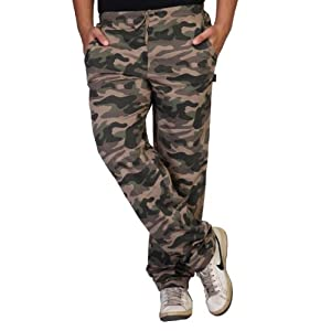 Clifton Men Army Printed Track Pants