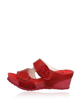 Think Keil-Pantolette Zilli (Rot)