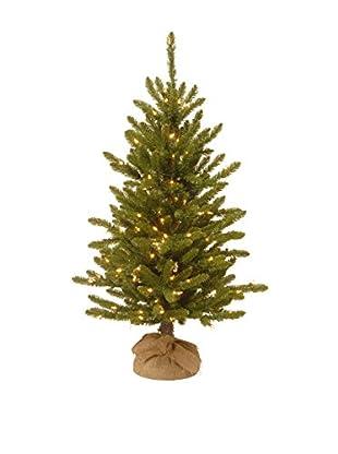 National Tree Company 4' Kensington Burlap Tree