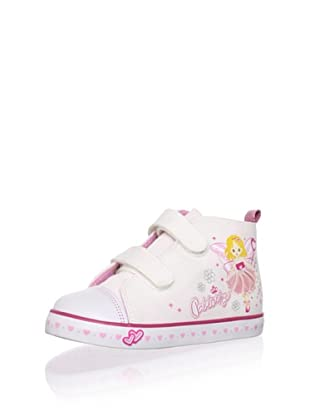 Pablosky Kid's Fairy High-Top Sneaker (White)