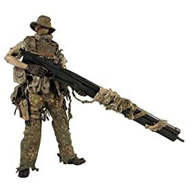"World War Robot PUNTER BOT SNIPER BBICN EXCLUSIVE (1/6�X�P�[�� ABS&�\�t�g�r�j�[���h���ς݉""��t�B�M���A)"
