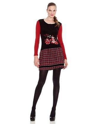 Rosalita Mc Gee Vestido Meadow (Rojo)