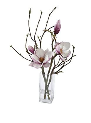 Magnolia in Glass (Fuchsia)