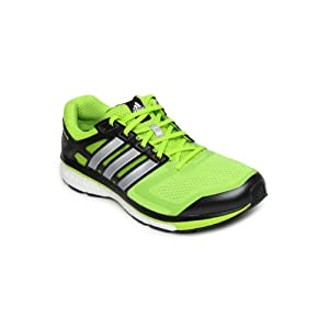 Adidas Men Neon Green Supernova Glide 6 Sports Shoes