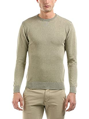 Hot Buttered Pullover Rounded Neck Knitwear