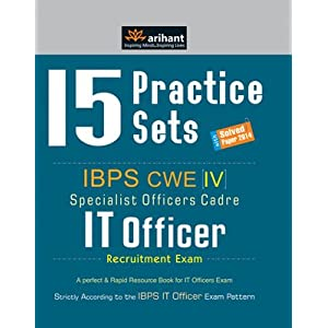 15 Practice Sets - IBPS CWE IT Officer Recruitment Exam (Old Edition)