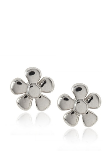 Catherine Angiel Flower Stud Earrings