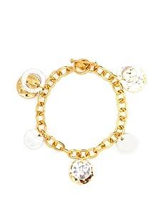 Argento Vivo Charm Bracelet, Silver/Gold