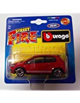 Bburago 1:43 Street Fire Cars in Blister Pack (Colors May Vary)