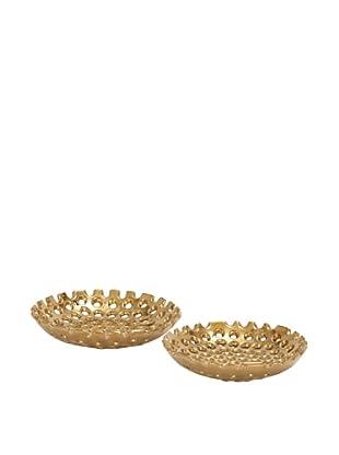 Set of 2 Ceramic Plates