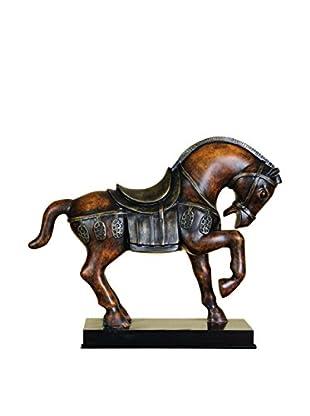 Benzara Horse Statue, Brown