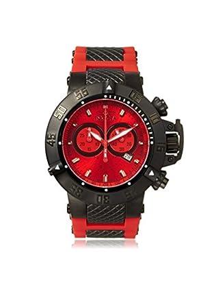 Invicta Men's Subaqua Noma III Red Polyurethane Watch