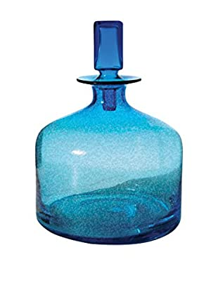 Artistic Pool-Blue Decanter, Small