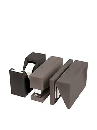 Lexon Buro Craft Set, Grey