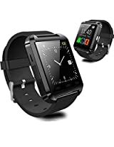 Noise U8 Bluetooth Smart Watch for Smartphones (Black)-(u8-smartwatch-1)