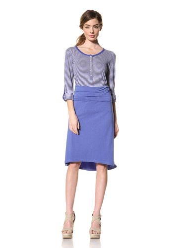 Splendid Women's High-Low Skirt (Cobalt)