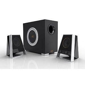 Altec Lansing VS2621 Speakers -Silver/Black