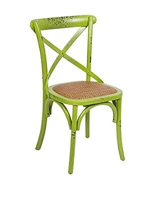 COLONIAL CHIC Stuhl grün
