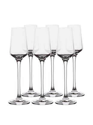 BergHOFF Set of 6 Chateau 3.4Oz. Cordial Glasses