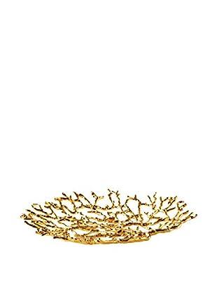 Torre & Tagus Reef Platter, Gold