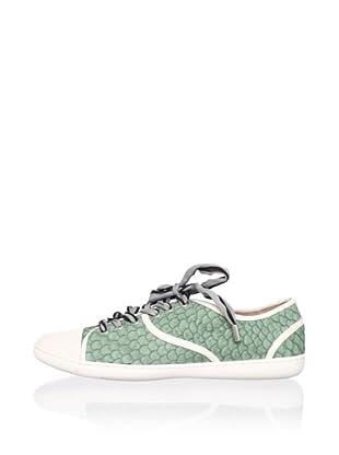 Lisa by Donald J Pliner Women's Midori Sneaker (Seafoam/White)