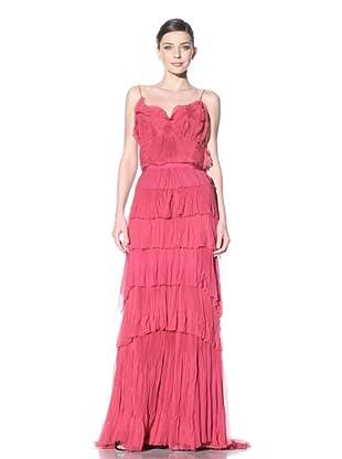NINA RICCI Women's Tiered Slip Gown