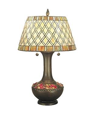 Dale Tiffany Winona Table Lamp, Multi