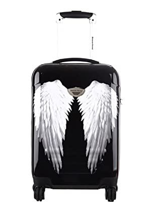 American Revival Trolley Wings 60x41x26 cm (Schwarz)