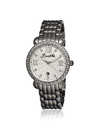 Bertha Women's BR1101 Ruth Silver Stainless Steel Watch