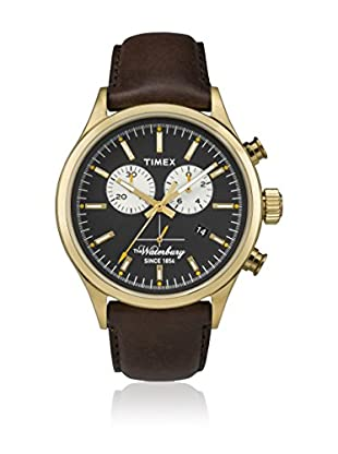 TIMEX Quarzuhr Man The Waterbury Chrono goldfarben 42 mm