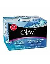 Olay 4 - In - 1 Daily Facial Cloths - Combination / Oily 33 Ea