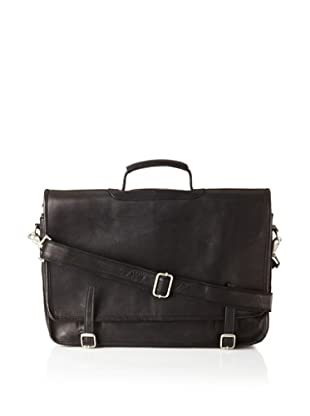 Latico Gramercy Laptop Brief, Black