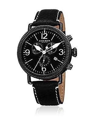 Akribos XXIV Reloj con movimiento cuarzo suizo Man AK753BK 42 mm