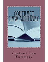 Contract Law Summary: Jide Obi Law Books for the Best and Brightest!