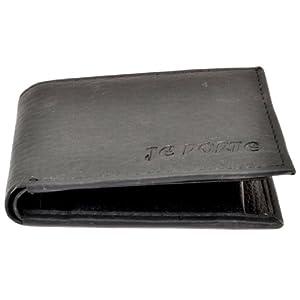 Je Porte 211 Litchi dana Black Wallet For Men