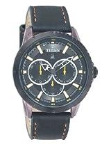 Titan Octane Multi-Function Analog Black Dial Men's Watch - 9484KL02J