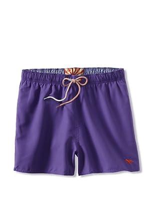 Ted Baker Men's Shorrti Fashion Swim Trunks (Purple)