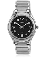 Ti000v70100 Silver/Black Analog Watch