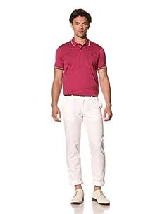 Pringle of Scotland Men's Slim Trousers (White)