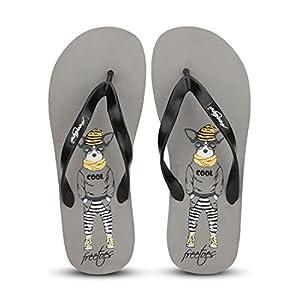 Smarty Grey Flip Flops