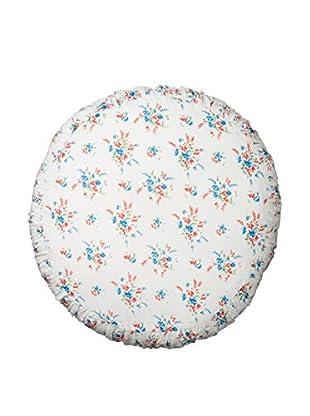 lazybones Thrift Round Pillow, Sprig Floral