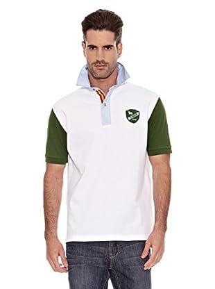 Toro Polo Escudo (Blanco / Verde)