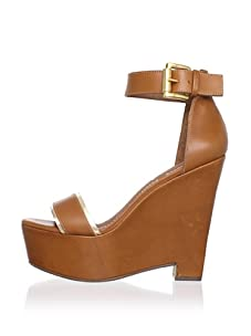 Elizabeth and James Women's Sibil Platform Sandal (Cognac Multi)