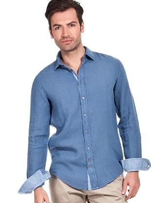 Hugo Boss Camisa Cliff (azul lavado)