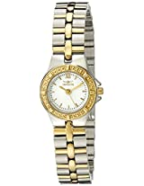 Invicta Watches, Women's Wildflower White Dial Two Tone, Model 0136