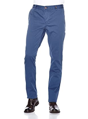 NZA New Zealand Auckland Chino Stretch Twill Pana Cardia (Azul)
