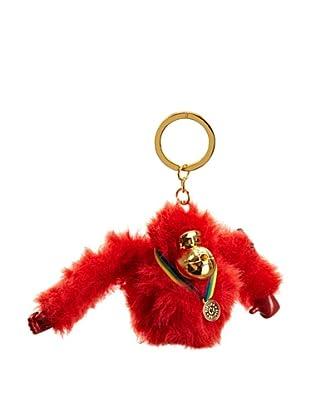 Kipling Schlüsselanhänger Monkeyclip (Rot)