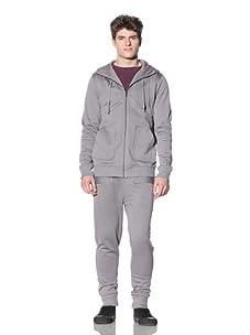 ZAK Men's Convertible Hoodie (Grey)