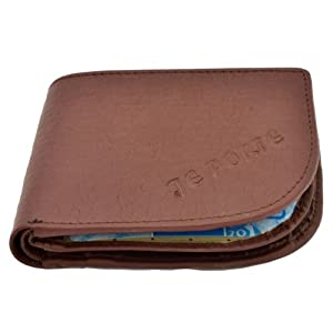 Je Porte 668 Litchi Men's Wallet-Brown
