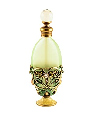 Ciel Collectables Bejeweled Perfume Bottle (Green)